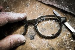 lunettes artisanales sur mesure stra