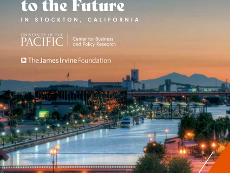 University of the Pacific middle skills jobs analysis: building ladders to the future in Stockton