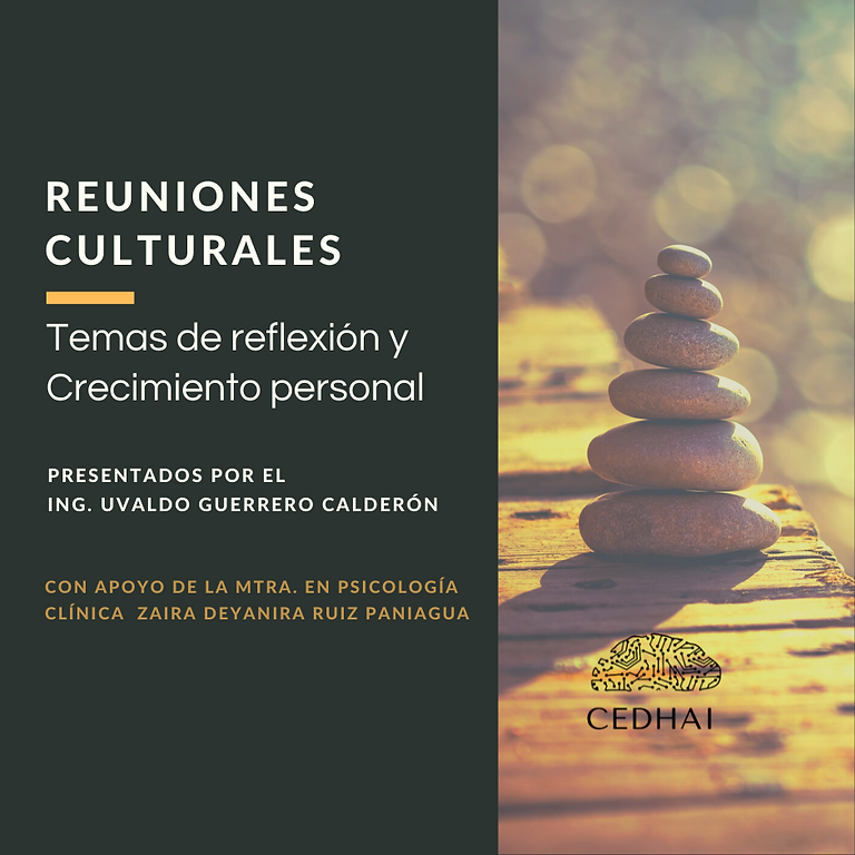 Reuniones Culturales: 4.