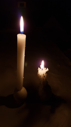 candele ovali