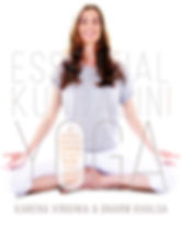 Front cover of new book release, Essential Kundalini Yoga