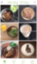 Foto voedingsdagboek