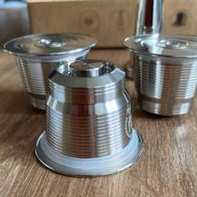 1. Herbruikbare stalen cups, duurzaam voor losse koffie