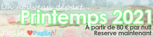 Offre spéciale de printemps. Vacances dans les Pouilles à partir de 95 € la nuit. Location de maisons de vacances Trulli