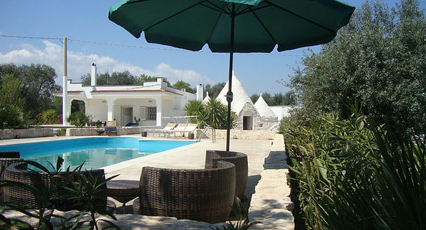 TrulliDolce 4 bedrooms, 2 bathrooms restored trulli accommodation in Ostuni countryside with private pool Pugliah.com