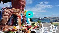 EPS7 CK Eats Puglia crudo raw seafood at Da Turicchio Santa Sabina Carovigno Apulia