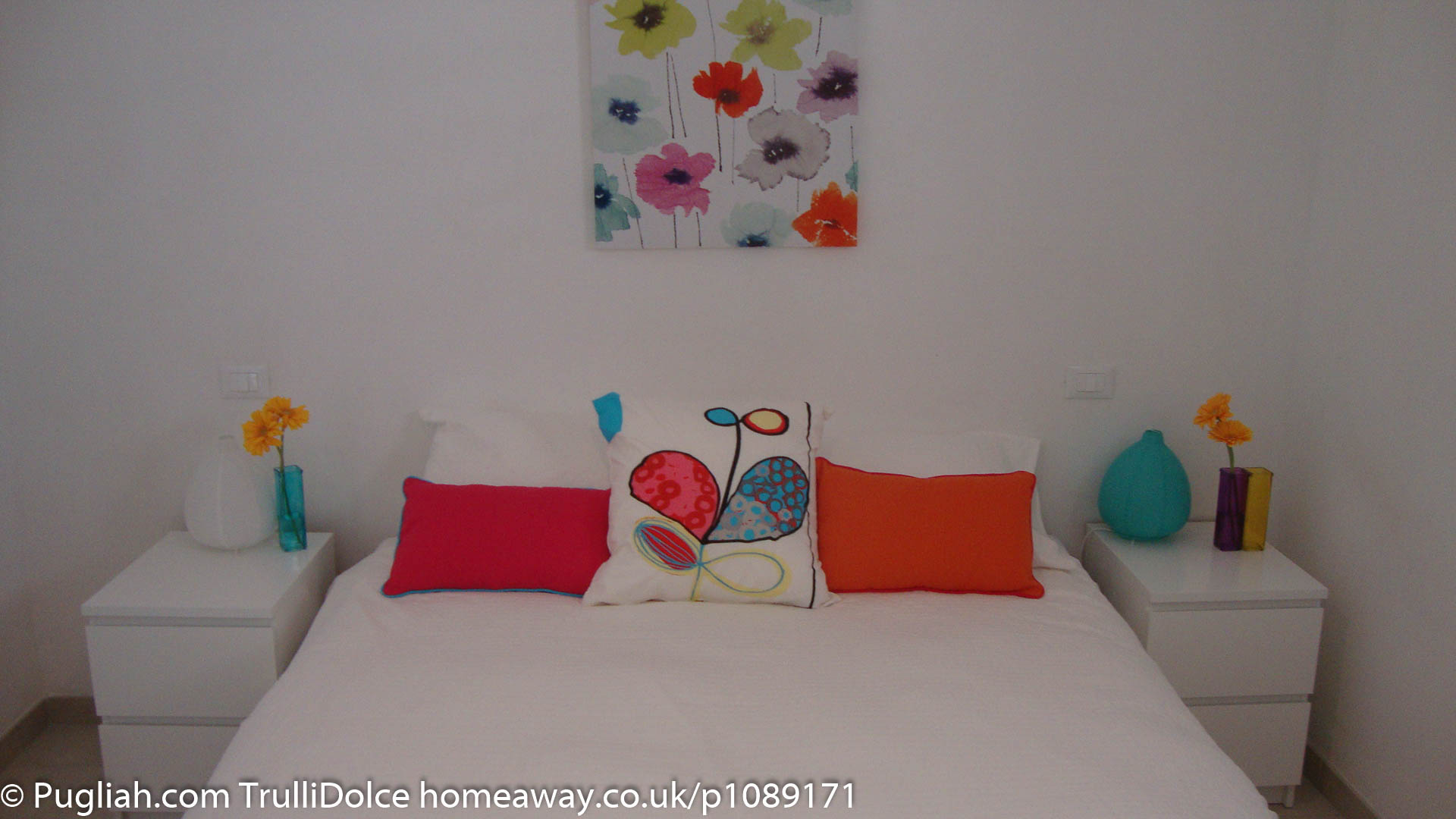 TrulliDolce Pugliah.com bedroom 2, TrulliDolce, Trullo holiday, trulli holidays, Puglia holiday in a