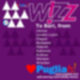 WizzAir to Bari