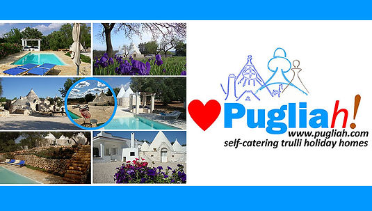 Pugliah.com Collectiion 6 restored trulli accomodation in Puglia Apulien Pouilles Italy Holiday Homes Italian Villas to rent
