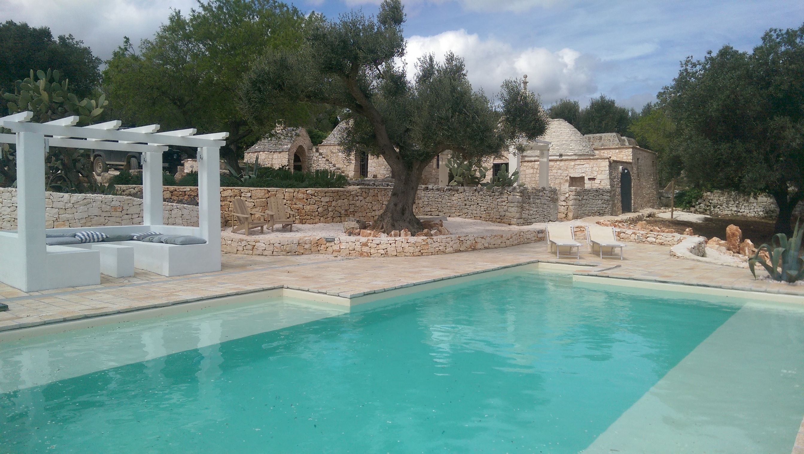 TrulliRoccia 10m x 6m private pool