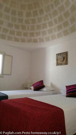 TrulliPesto Bedroom 2 Pugliah.com