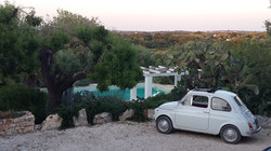 TrulliRoccia View w Fiat