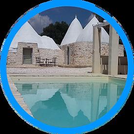 TrulliPesca trulli accommodation Pugliah.com Puglia Pouilles Apulien with private pool