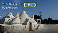 TrulloBelloNido trulli holidays in puglia video tour for 4 guests, 2BR, 2BA and private pool.
