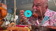 EPS3 CK Eats Puglia aperitivo and aperol spritz at Bar Nepenta Ostuni Puglia Italy
