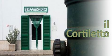 Restaurant il Cortoletto Speziale Puglia