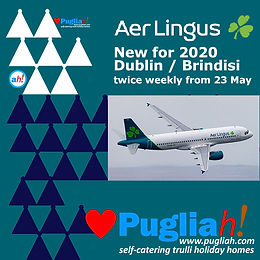 Aer Lingus NEW ROUTE Brindisi, flights to Bari, flights to Brindisi, flights to Puglia, Aer Lingus Brindisi, getting to Puglia, getting to Apulia, Puglia nearest airport, vols pour Bari, vols pour Brindisi, vols pour les Pouilles, Ryanair Bari, Ryanair Brindisi, se rendre aux Pouilles, se rendre aux Pouilles, aéroport le plus proche des Pouilles, flights to Bari, flights to Brindisi, flights to Puglia, Ryanair Bari, Ryanair Brindisi, getting to Puglia, getting to Apulia, Puglia nearest airport