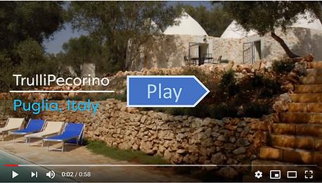 TrulliPecorino trulli holiday in Puglia video tour