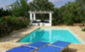 TrulliPesto 2bedrooms, 2 bathrooms restored trulli accommodation in Ostuni countryside with private pool Pugliah.com