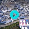 Experience Ostuni, Citta Bianca, from the air, aerial drone video of Ostuni.  Holiday in south Italy. Holiday in Puglia. Ostuni trulli. Ostuni trulli rentals