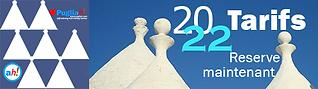 Tarifs Pouilles 2022