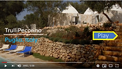 TrulloPecorino trulli holidays in puglia video tour for 4 guests, 2BR, 2BA and private pool.