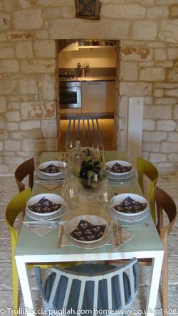 TrulliRoccia Inside Dining for Six
