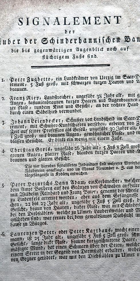 SteckbriefSchinderhannesräuber_1803_850-
