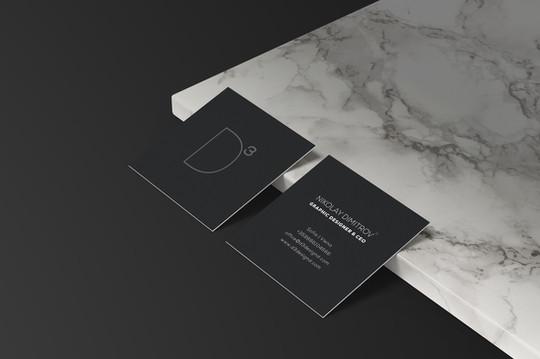 D3 Visit cards
