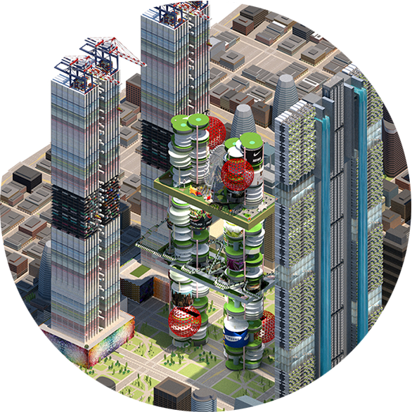 Future Sustainable Vertical Agrigultural City