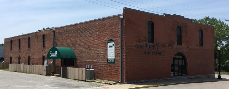 Community Courtyard Venue near Kansas City