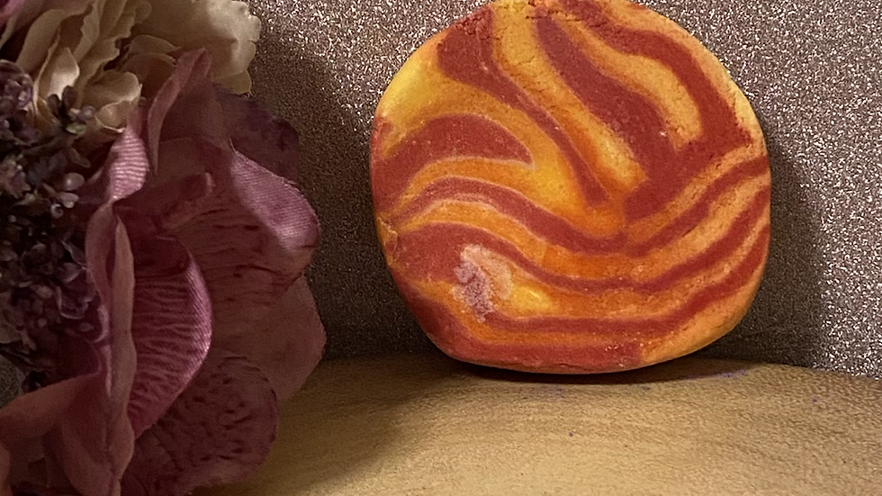 Rhubarb Custard Bubble Bar