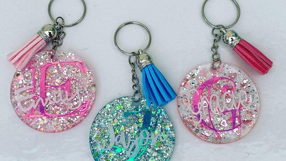 Personalised key rings!