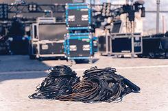 Installation of professional sound equip