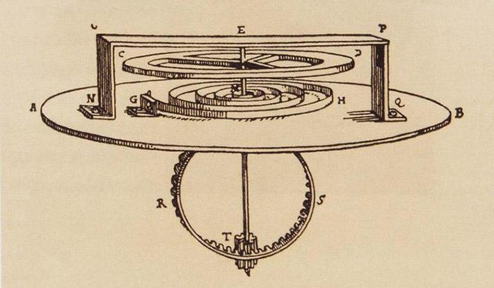 Huygen, Balance Wheel, 1656