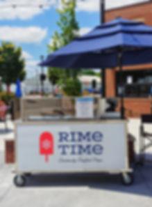 Hilliard Center Street Market Rime Time Pops Cart