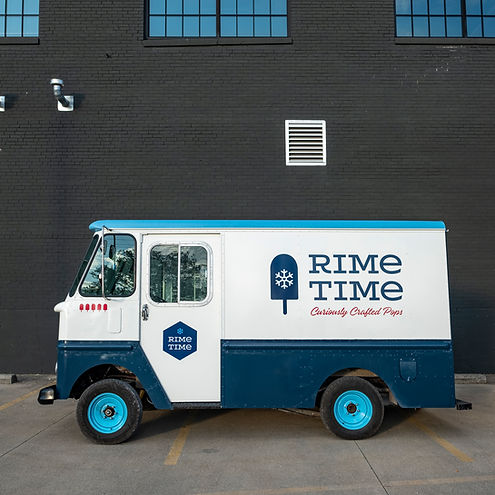 Ice Cream Truck Popsicle Truck Rime Time Pops Truck Food Truck