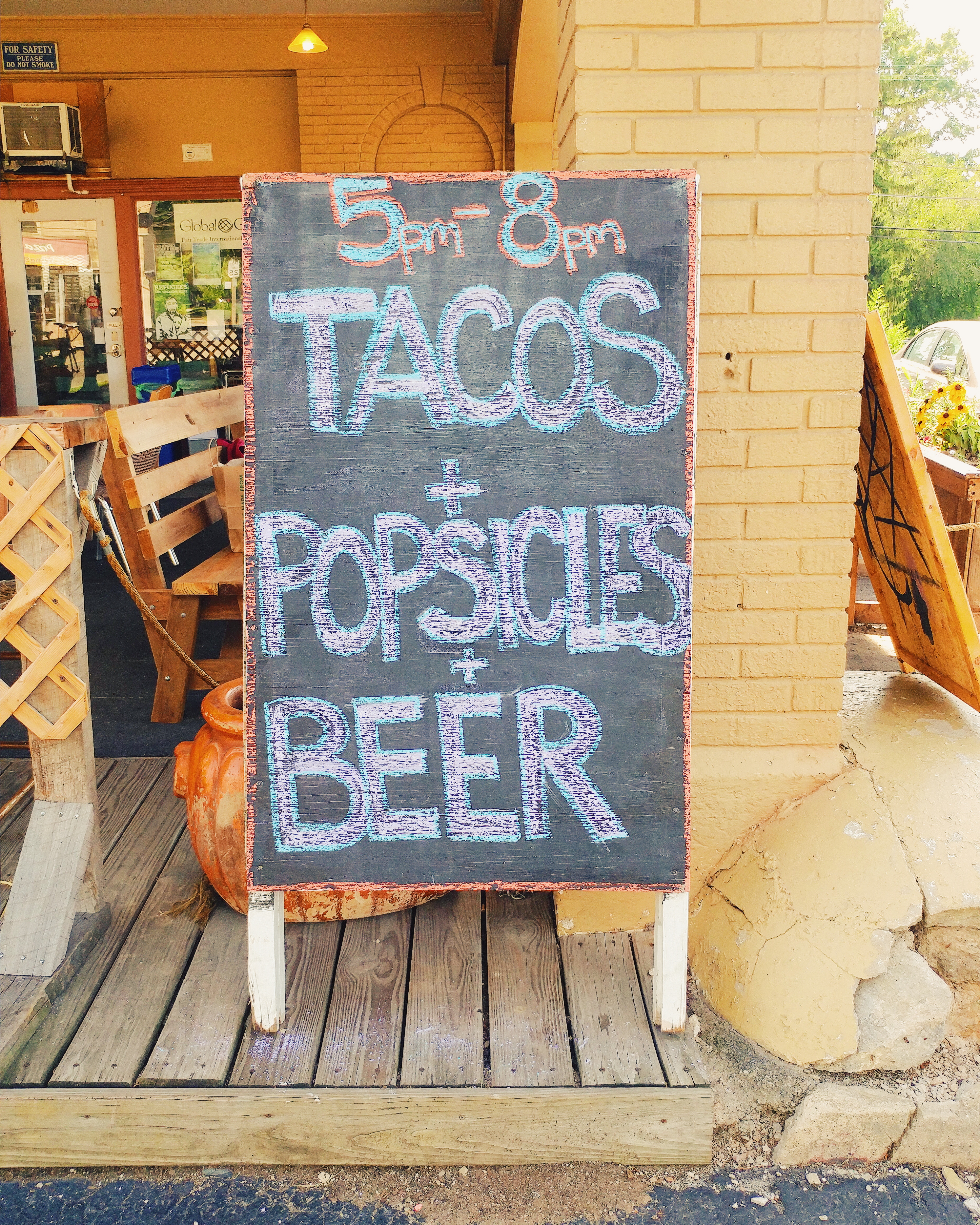Tacos Popsicles Beer