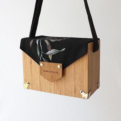 Leafy Bamboo Box Bag