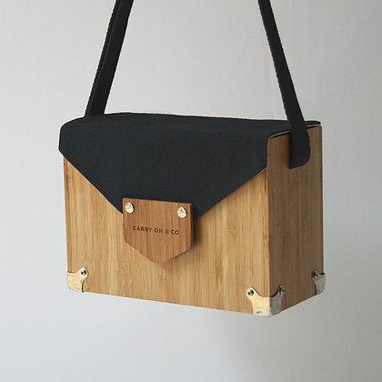 Charcoal Bamboo Box Bag