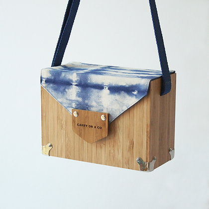 Tie-dye Bamboo Box Bag