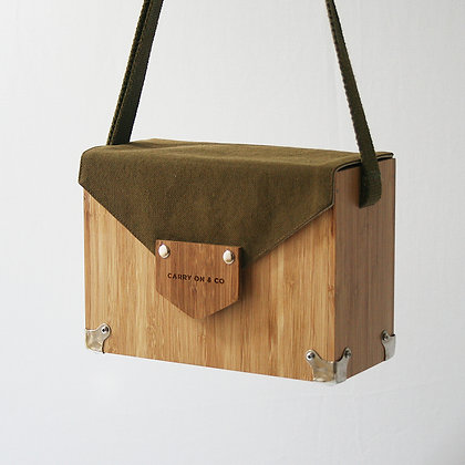 Trooper Bamboo Box Bag