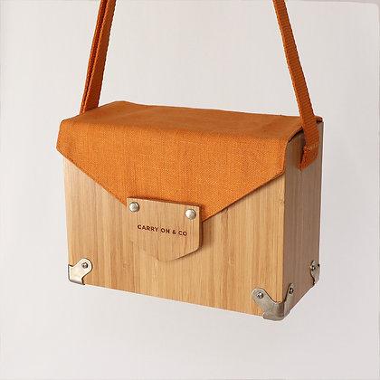 Pumpkin Bamboo Box Bag