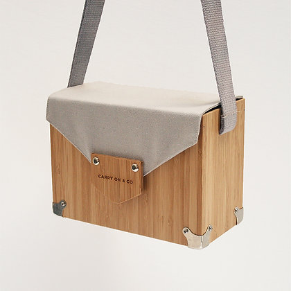 Bluegrey Bamboo Box Bag