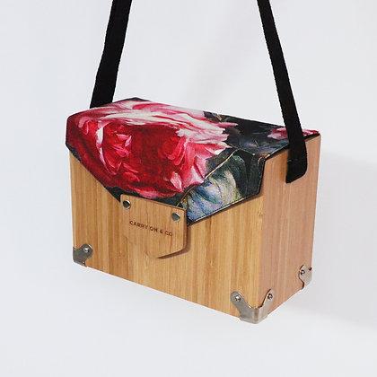 Rose Bloom Bamboo Box Bag