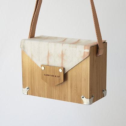 Tie-dye Bamboo Box Bag