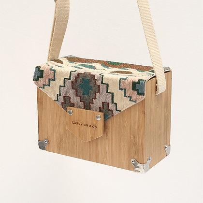 Aztec Bamboo Box Bag