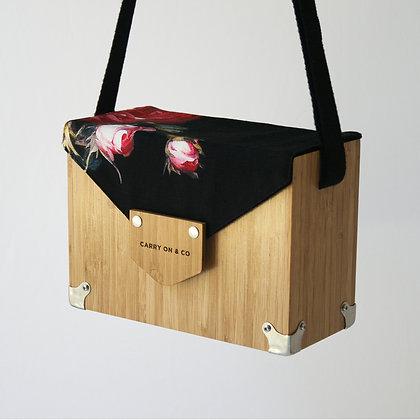 Subtle Bloom Bamboo Box Bag