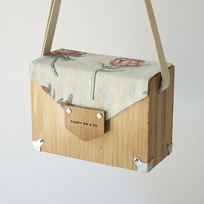 Protea Bamboo Box Bag