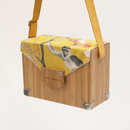 Monkey Bamboo Box Bag